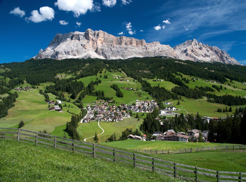 Race you to the top! The dramatic Dolomites