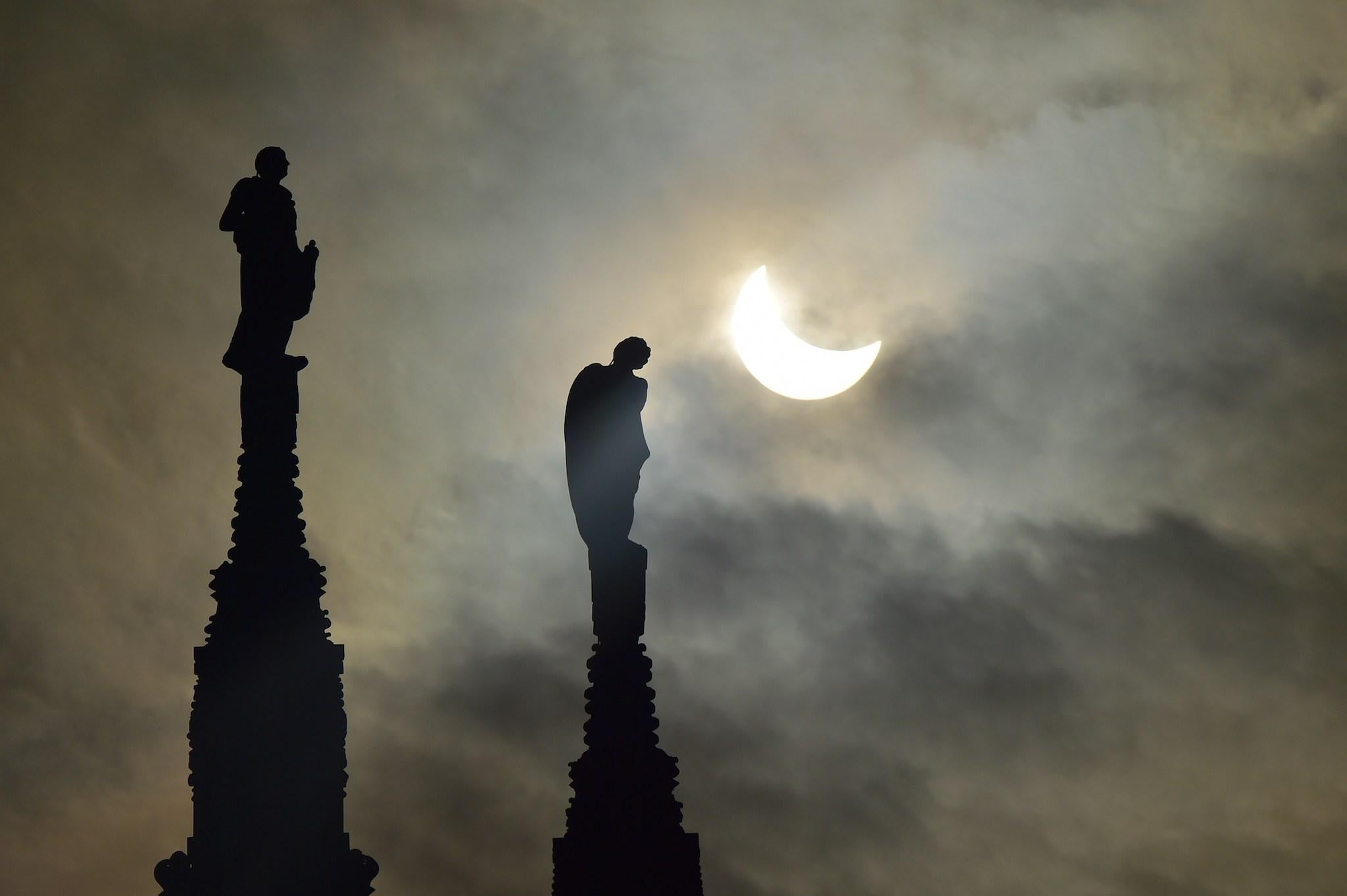 Eclipse 2017 We ve been terrified of the sun disappearing since the