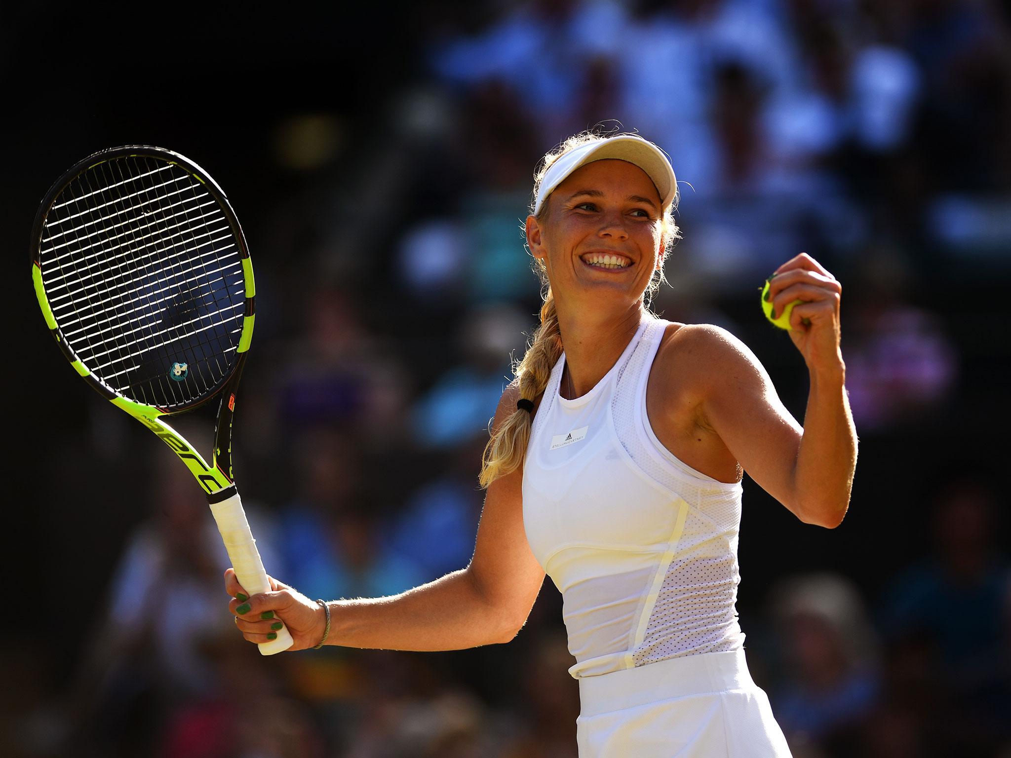 tennis wozniacki