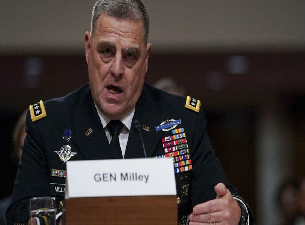 The general's comments have been interpreted as a criticism of the President