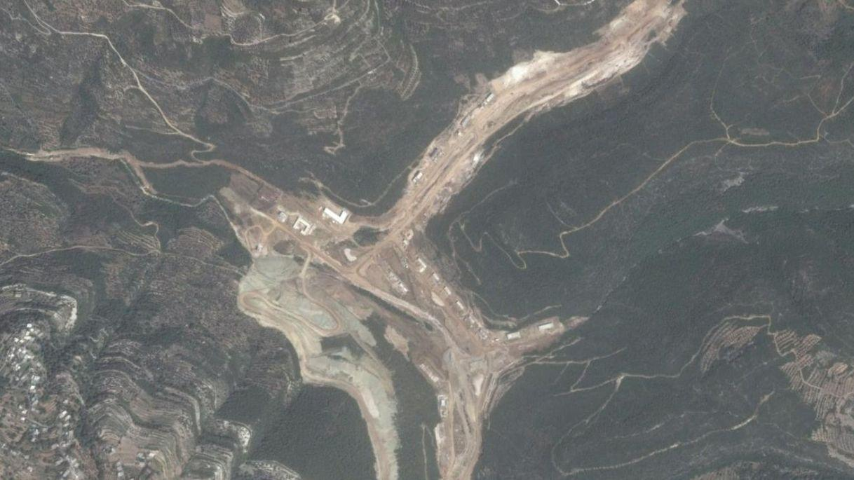 Israeli satellite images reveal a 'Iranian missile facility' is under construction in Syria