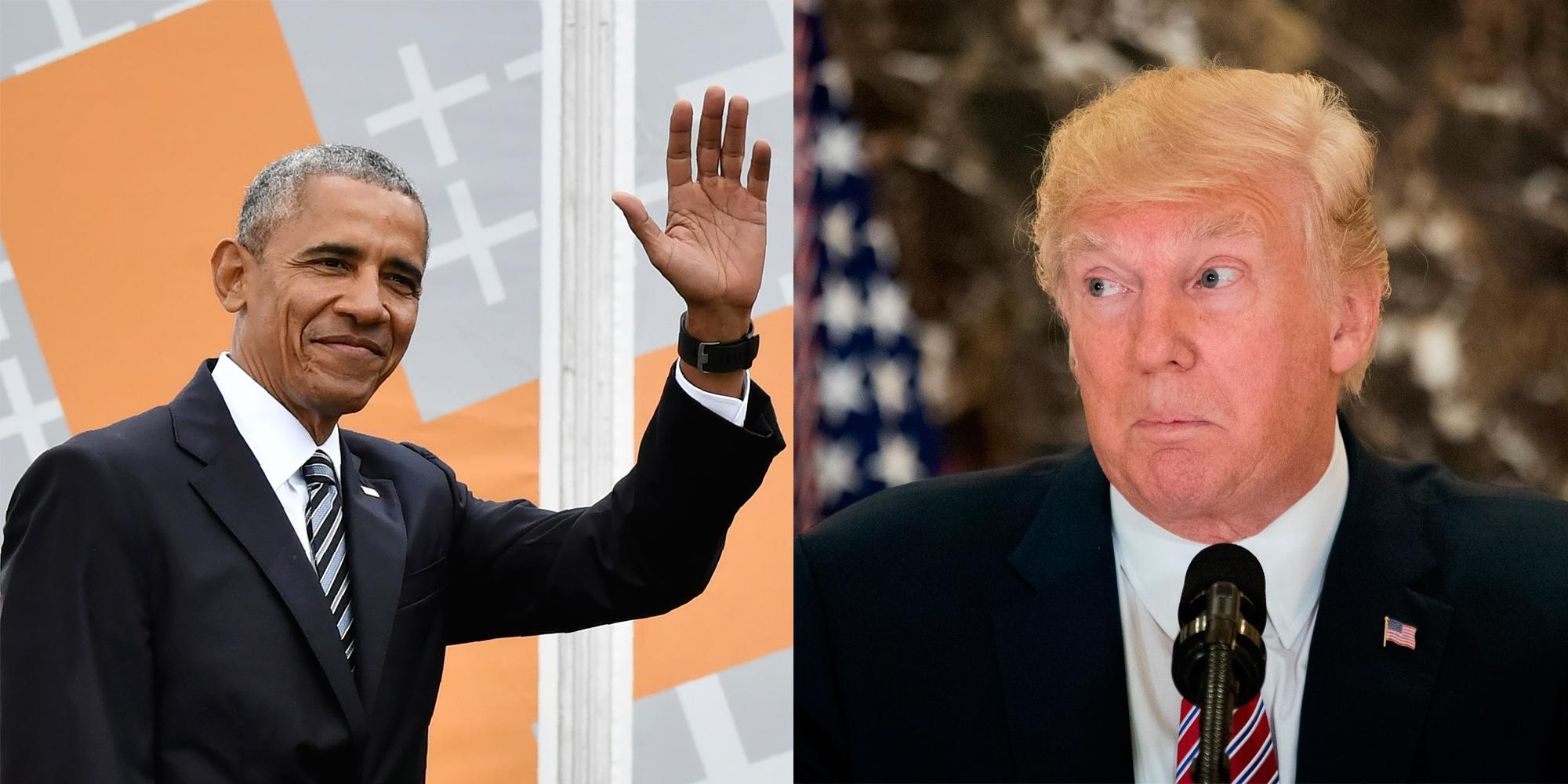 The surprising thing that Trump and Obama have in common | The ...