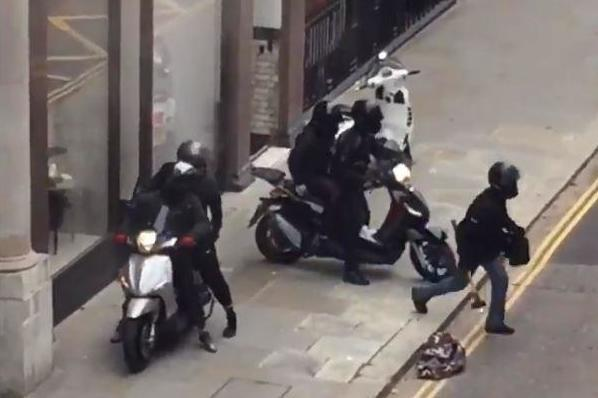 Robbers On Mopeds Ransack London Jewellery Store In Broad