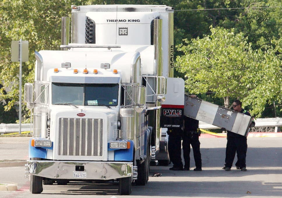 San Antonio truck deaths: Lorry driver charged after 10 people found