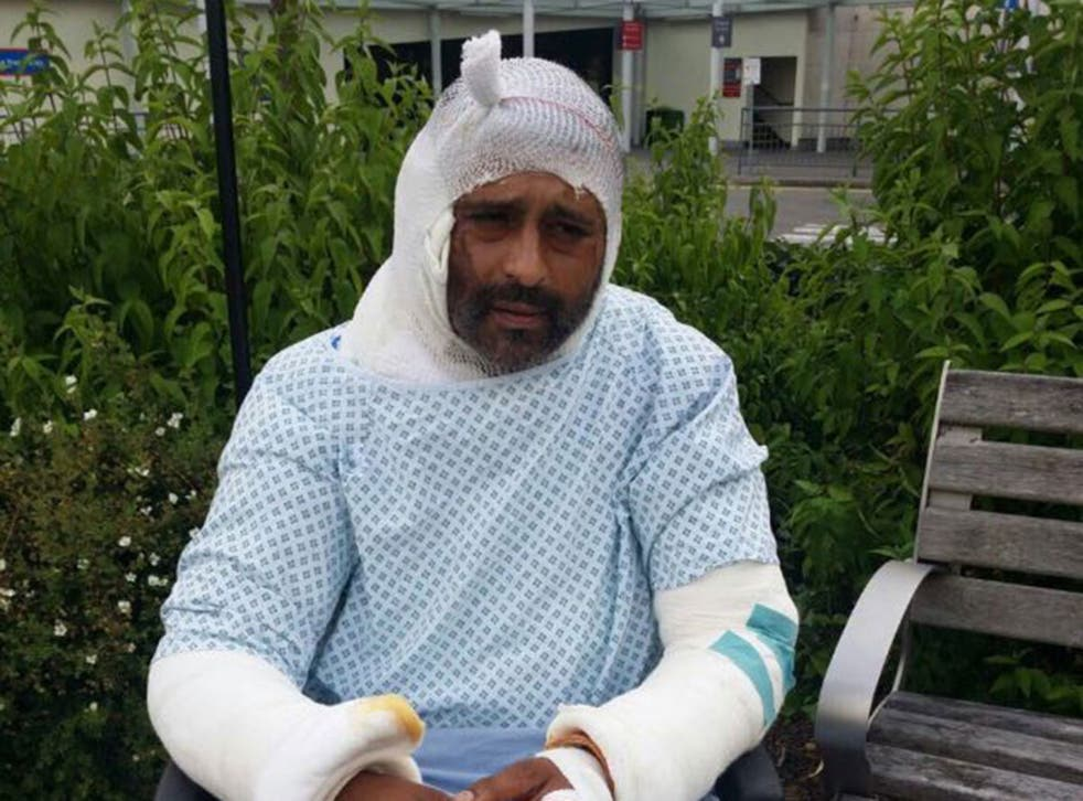 Jameel Mukhtar, 37, suffered life-changing injuries in an acid attack on 21 June