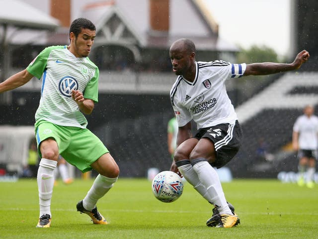 Sone Aluko's Fulham future is up in the air