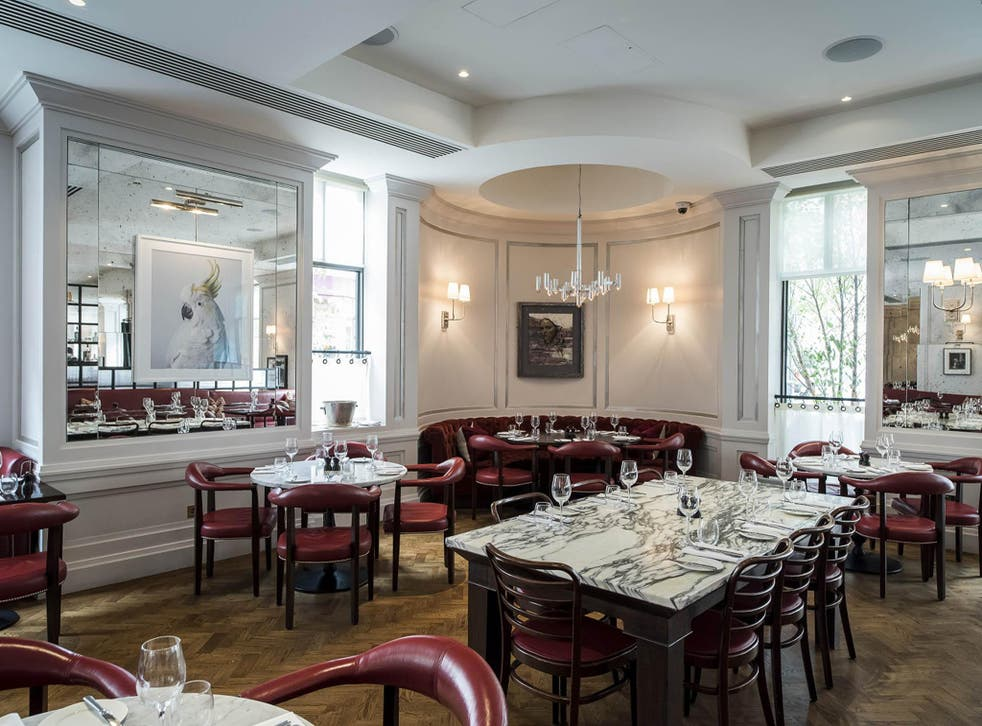 Excellent food, enjoyed in an opulent setting