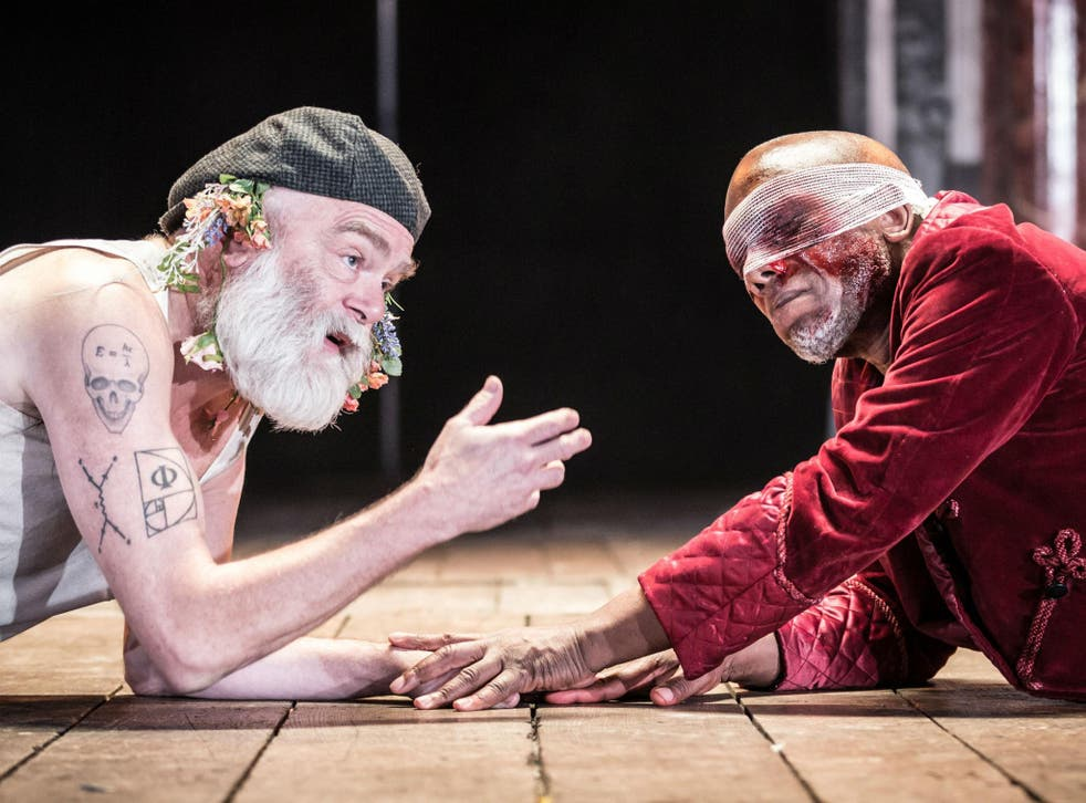 An honourable performance from Kevin R McNally as Lear and Burt Caesar as Gloucester in Nancy Meckler's 'King Lear'