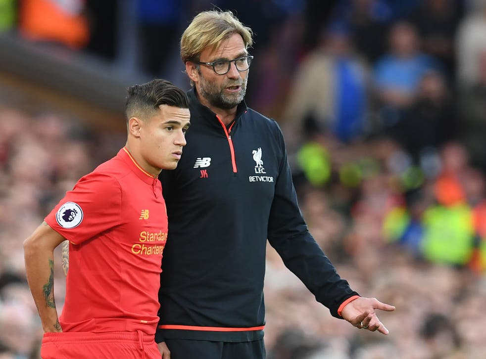 Jurgen Klopp claimed there is no update on Philippe Coutinho's future at Liverpool
