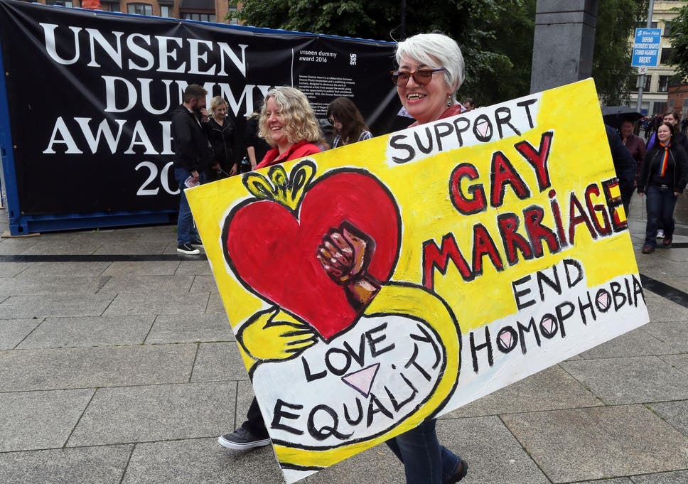 Homosexuality legalised in northern ireland