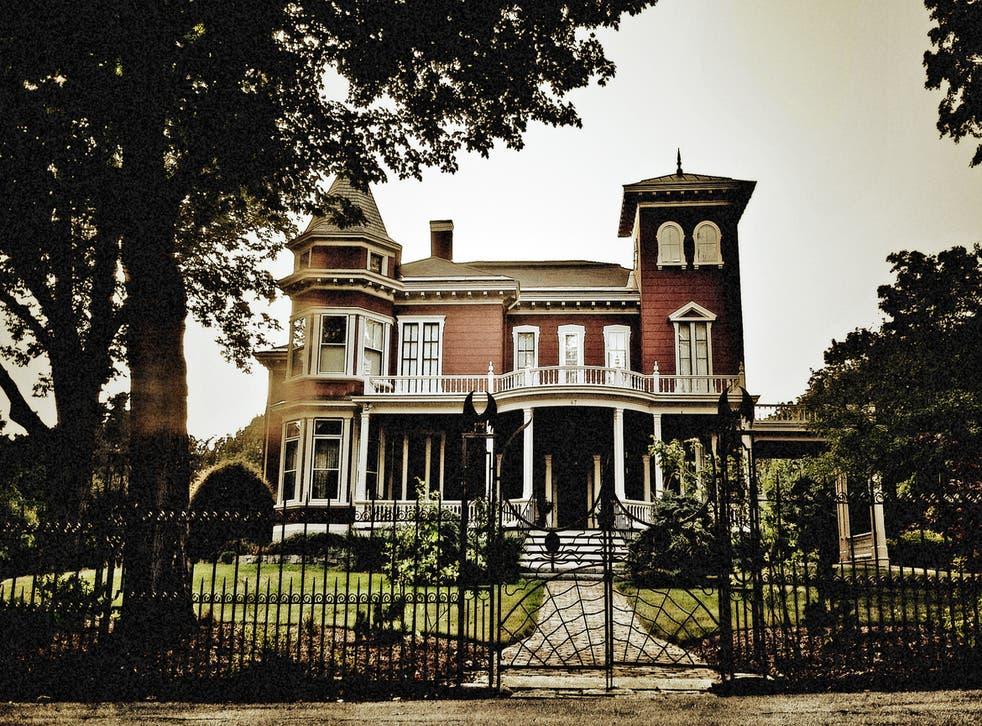 Stephen King's house in Bangor is as creepy as his novels