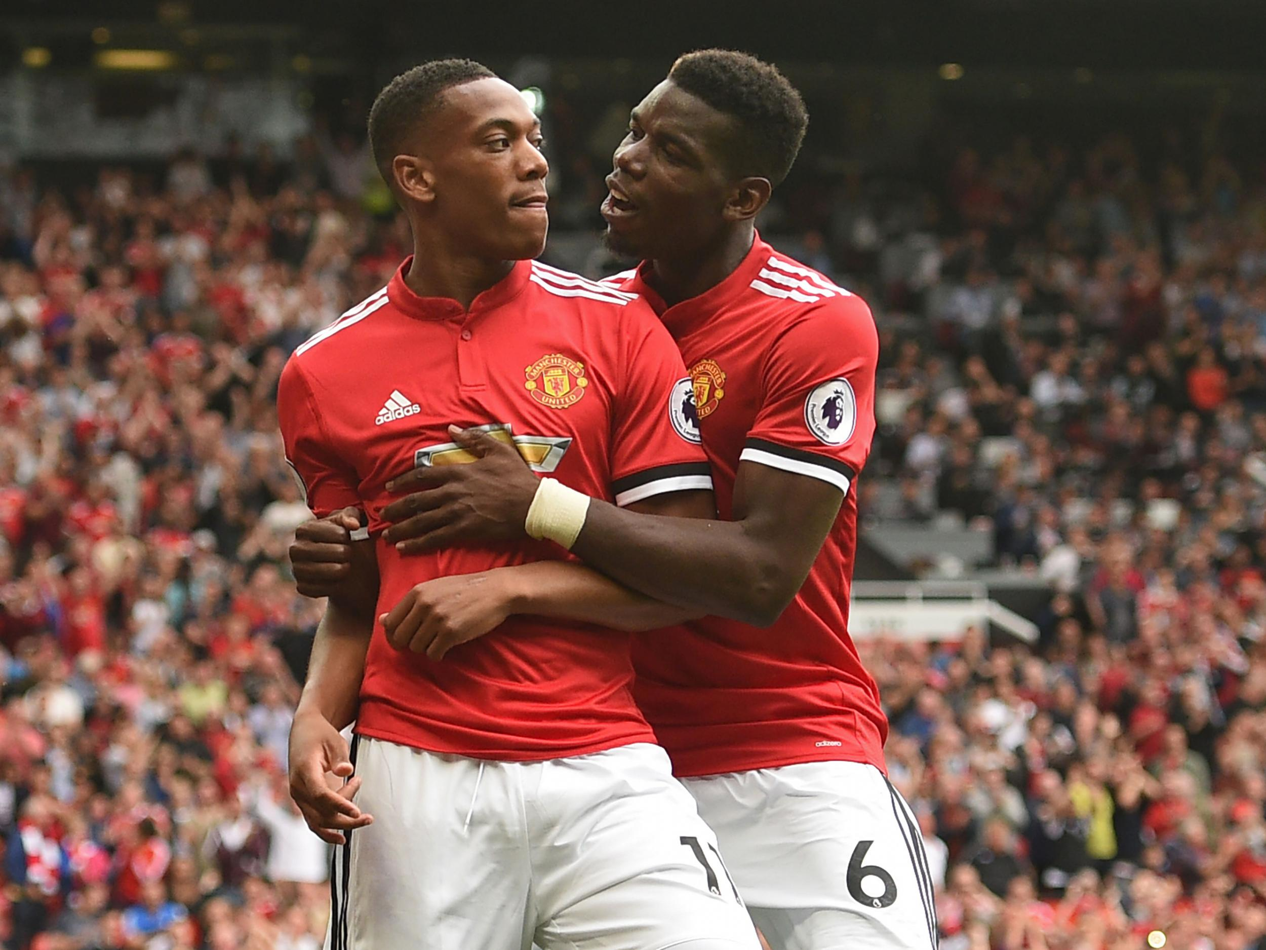 Manchester United forward Anthony Martial s future is safe at Old