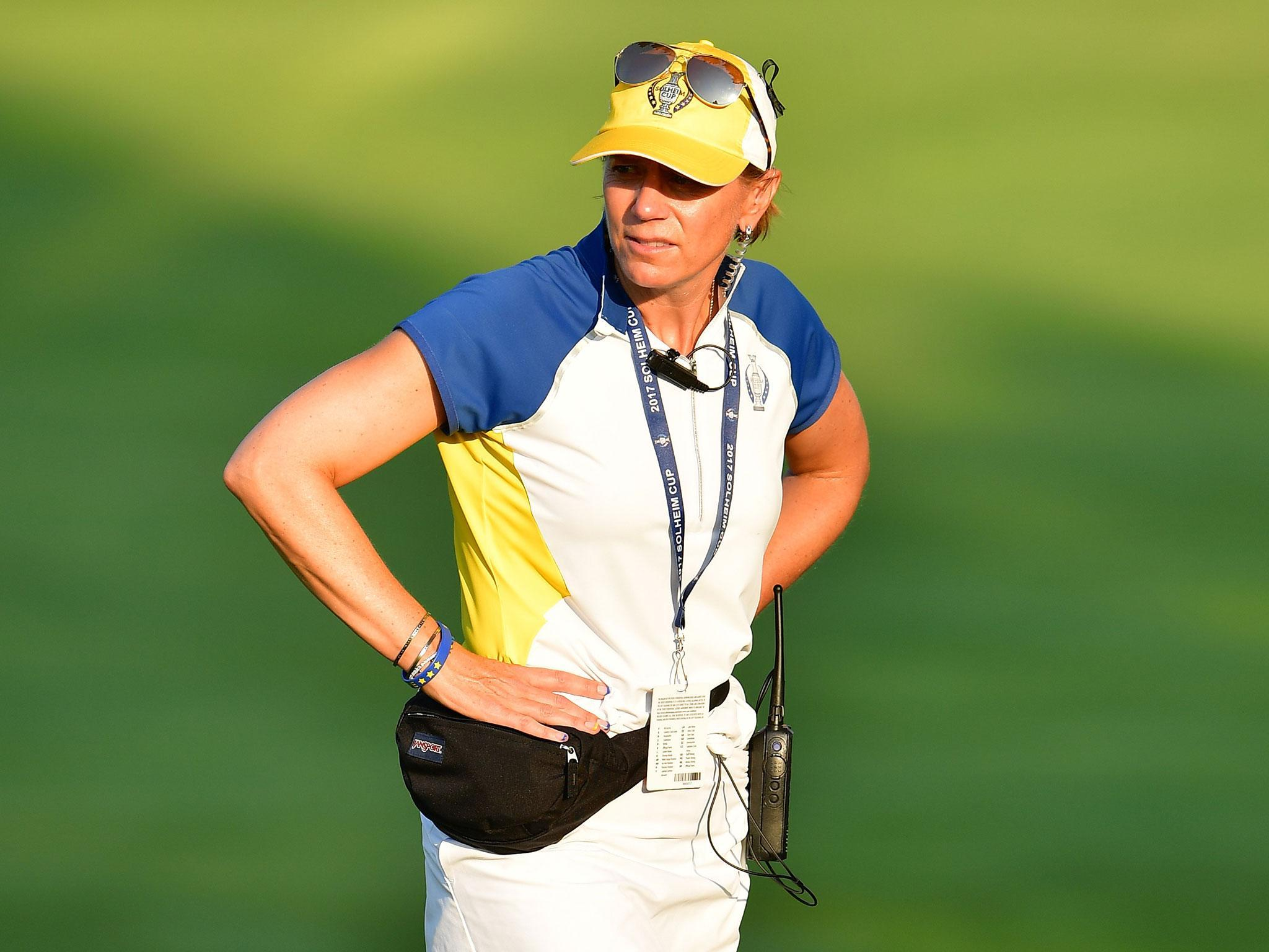 Solheim Cup: United States sweep fourballs to leave Europe ...