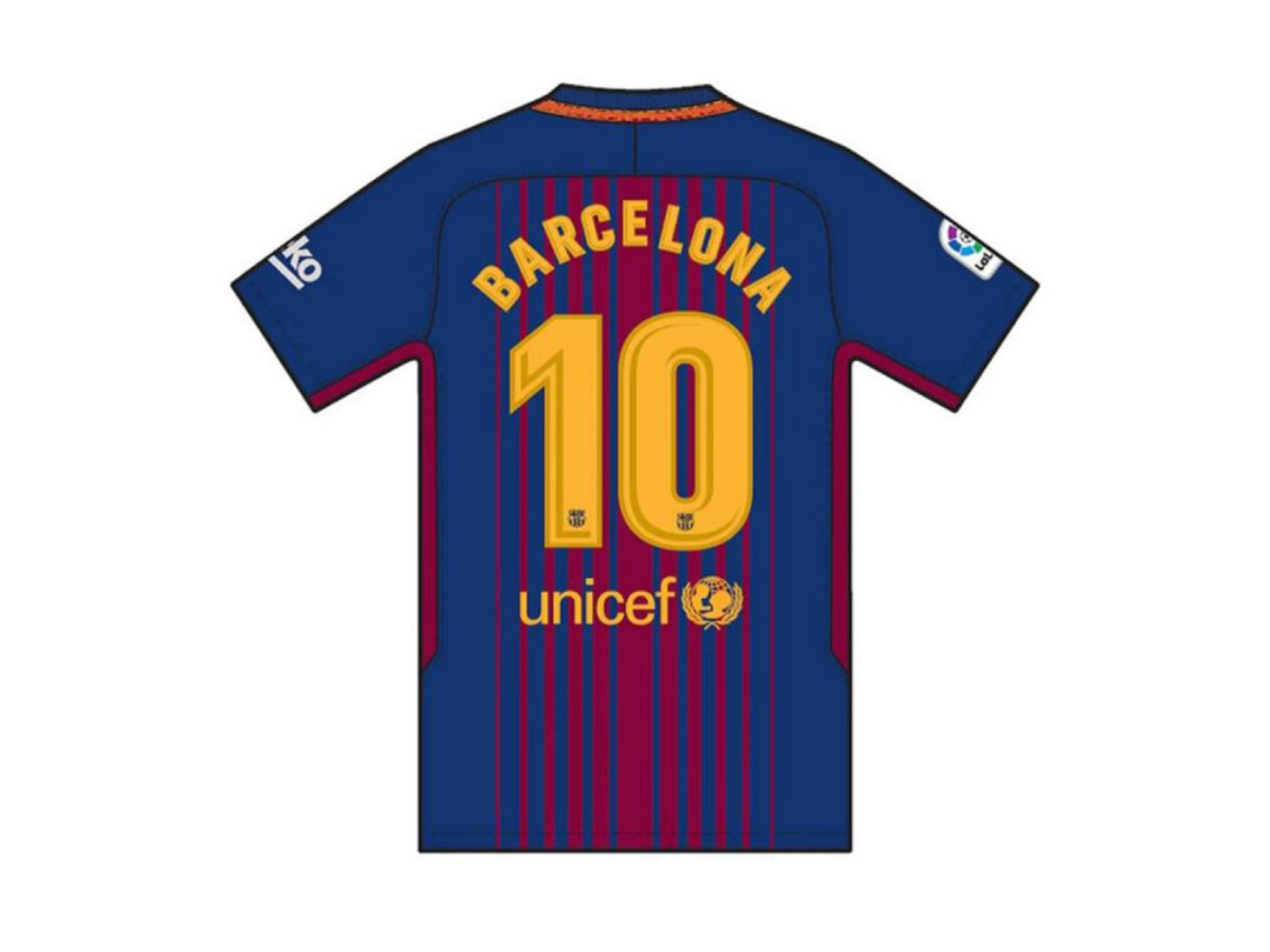 cheap for discount b4edd 4a20e Barcelona to wear special jerseys for La Liga opener against ...