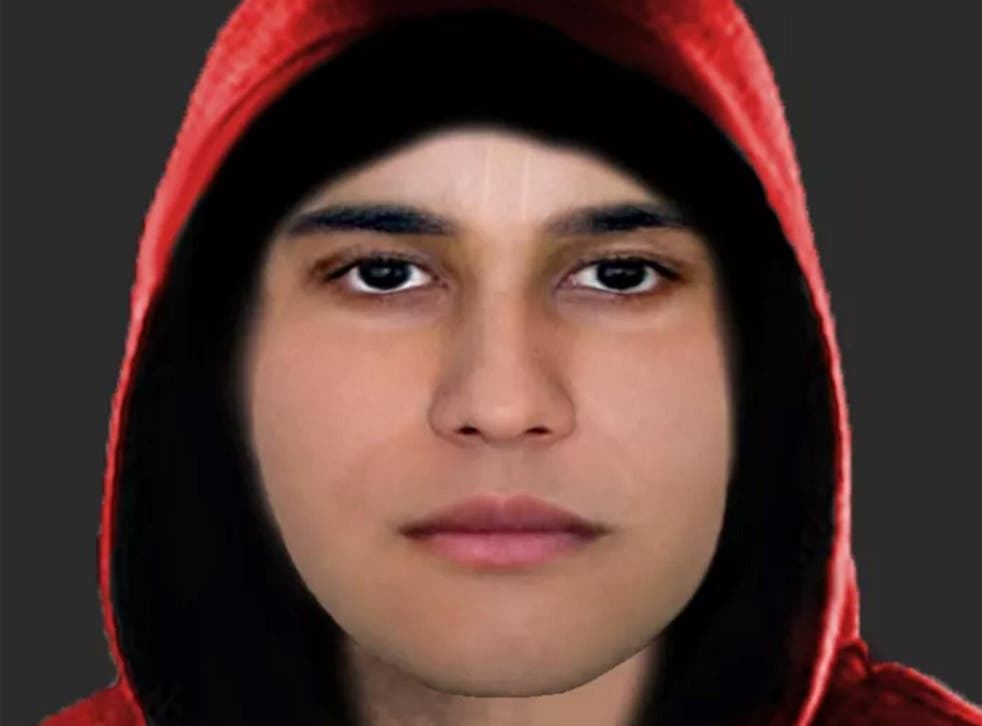 The police have released an e-fit of the suspect