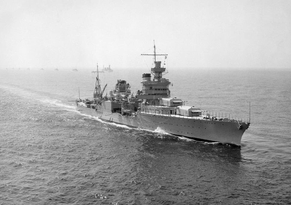 USS Indianapolis: Lost WWII warship found at bottom of ocean
