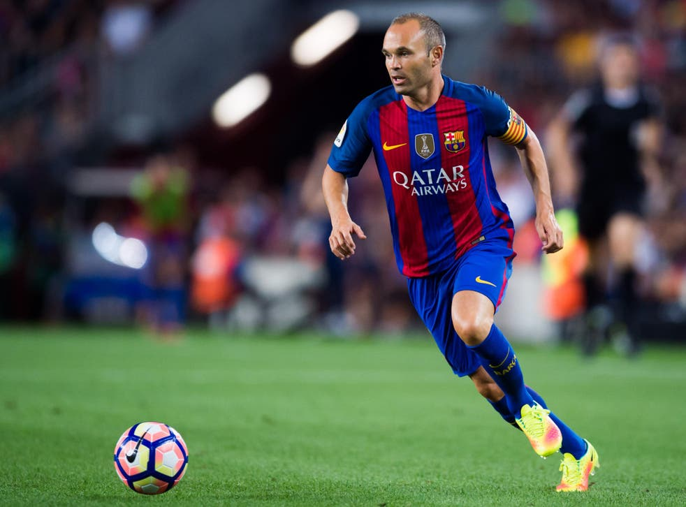 Andres Iniesta will lead Barca into battle against their greatest rivals