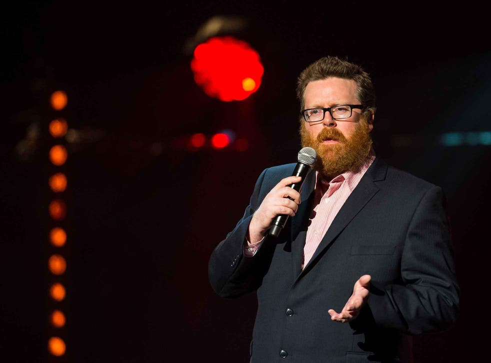 Frankie Boyle's one-liner about Donald Trump was beaten into second place