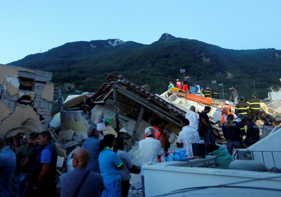 Ischia earthquake: Two dead and at least 39 injured on