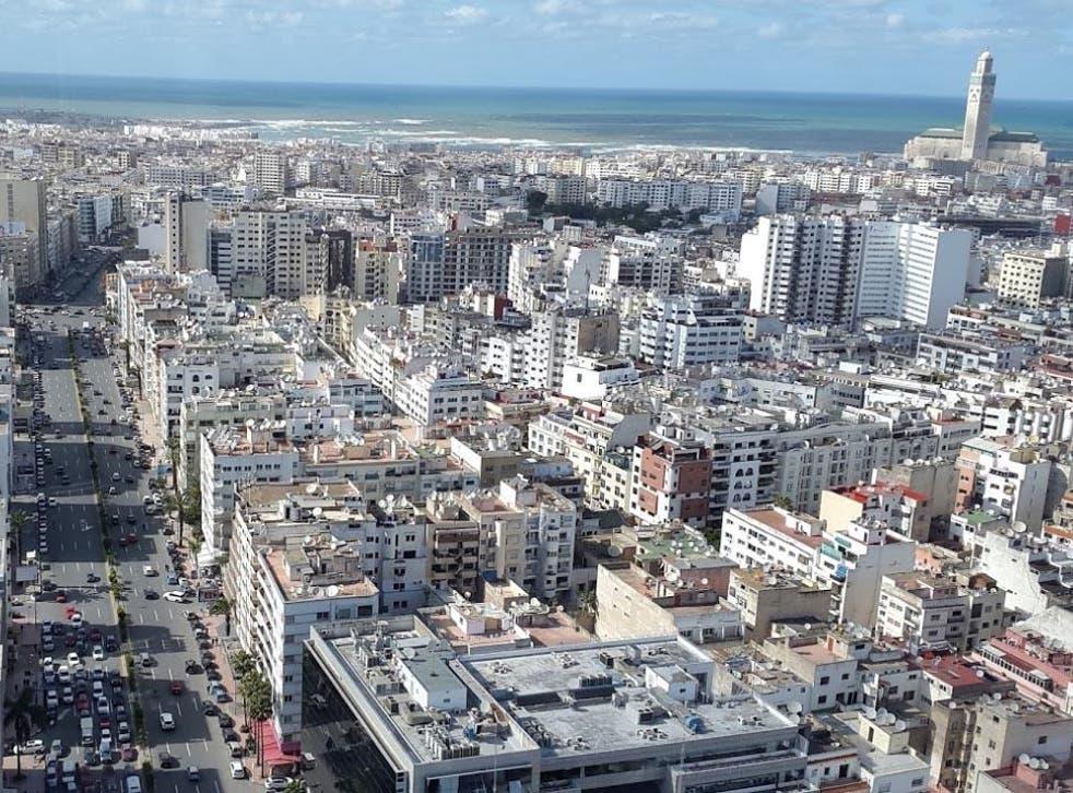 The rape happened in Casablanca