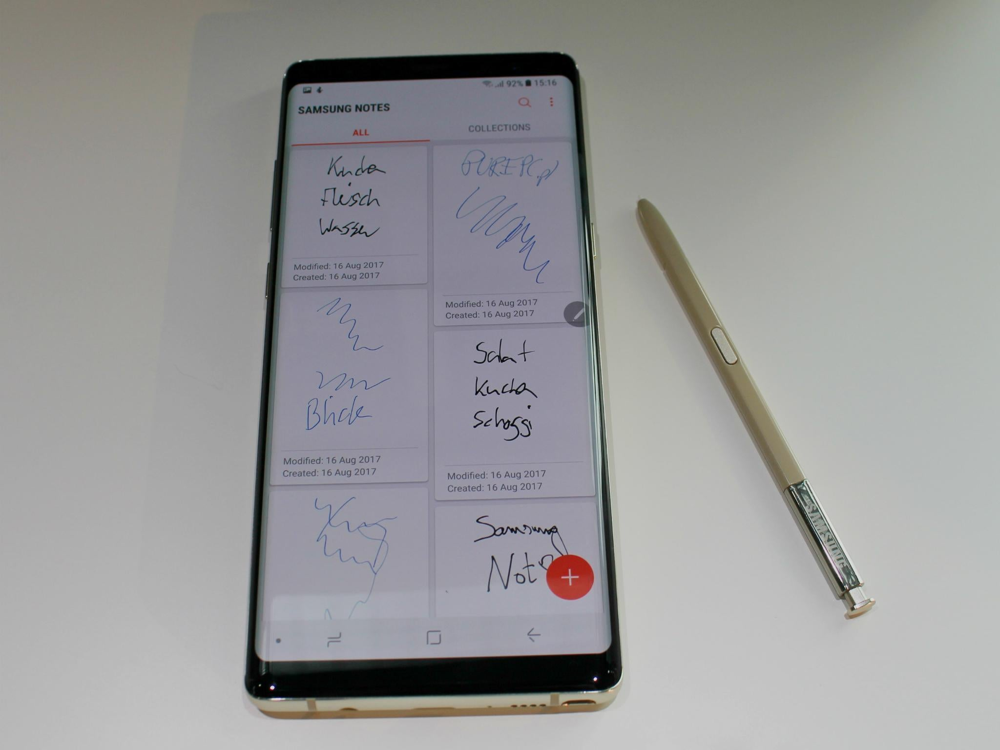 Samsung Galaxy Note 8 hands-on review: Slick and beautiful