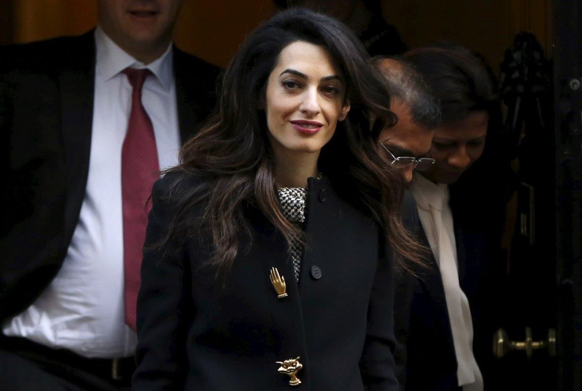 Amal Clooney speaks out against sexist' Donald Trump Amal Clooney speaks out against sexist' Donald Trump new pictures