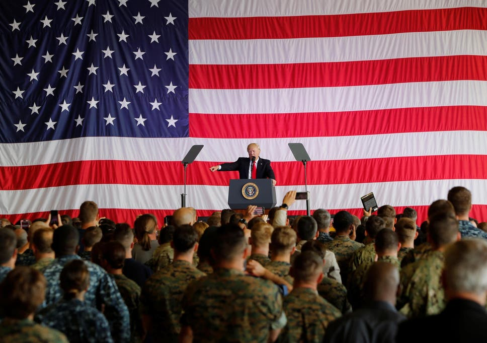 Donald Trump Memo Gives Us Military Six Months To Implement