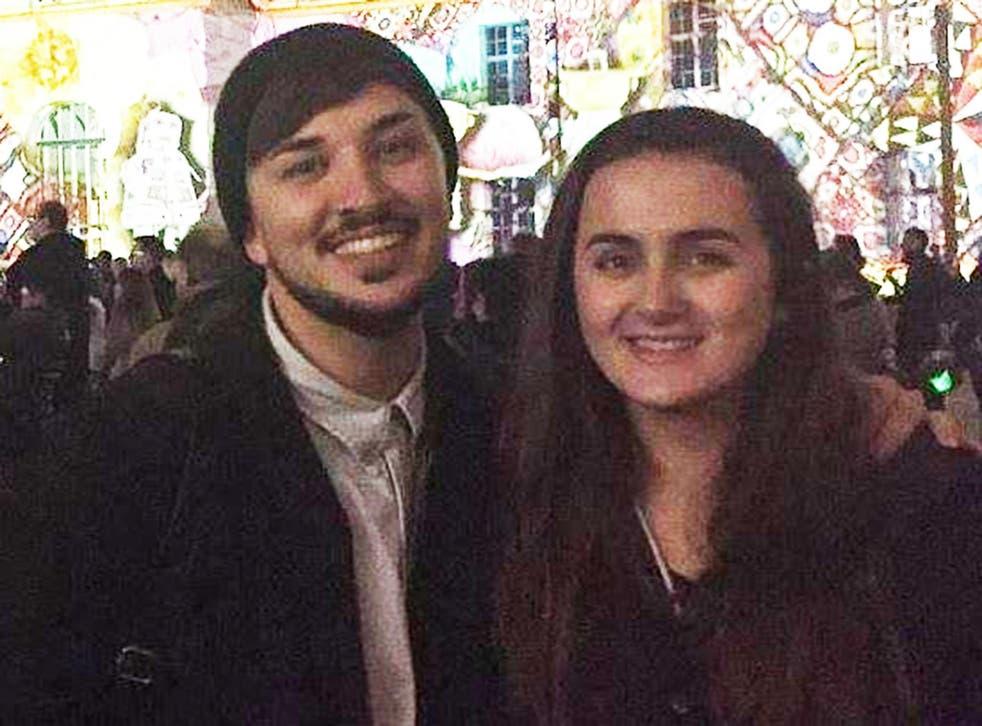 Nikita Murray with her brother Martyn Hett
