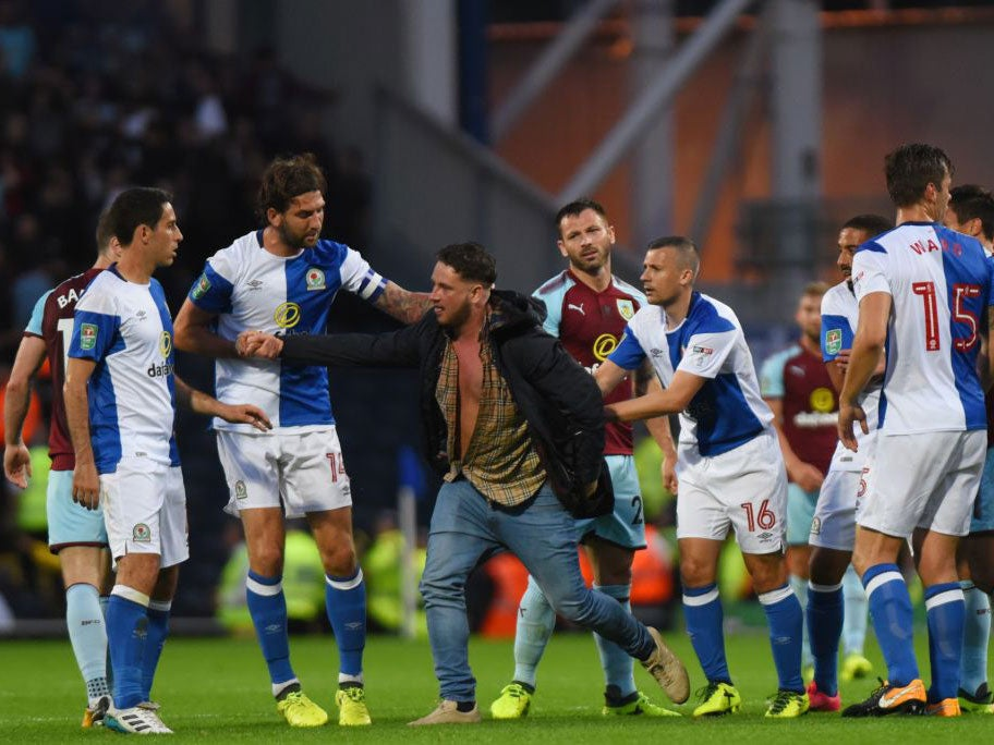Five arrested after Blackburn fan attacks Burnley players ...
