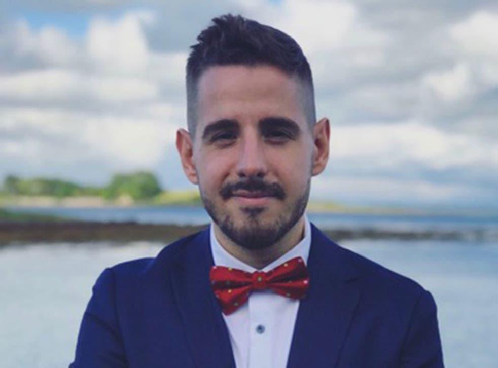Matteo Mencarelli, a 30-year-old Italian man who left the UK after the EU referendum