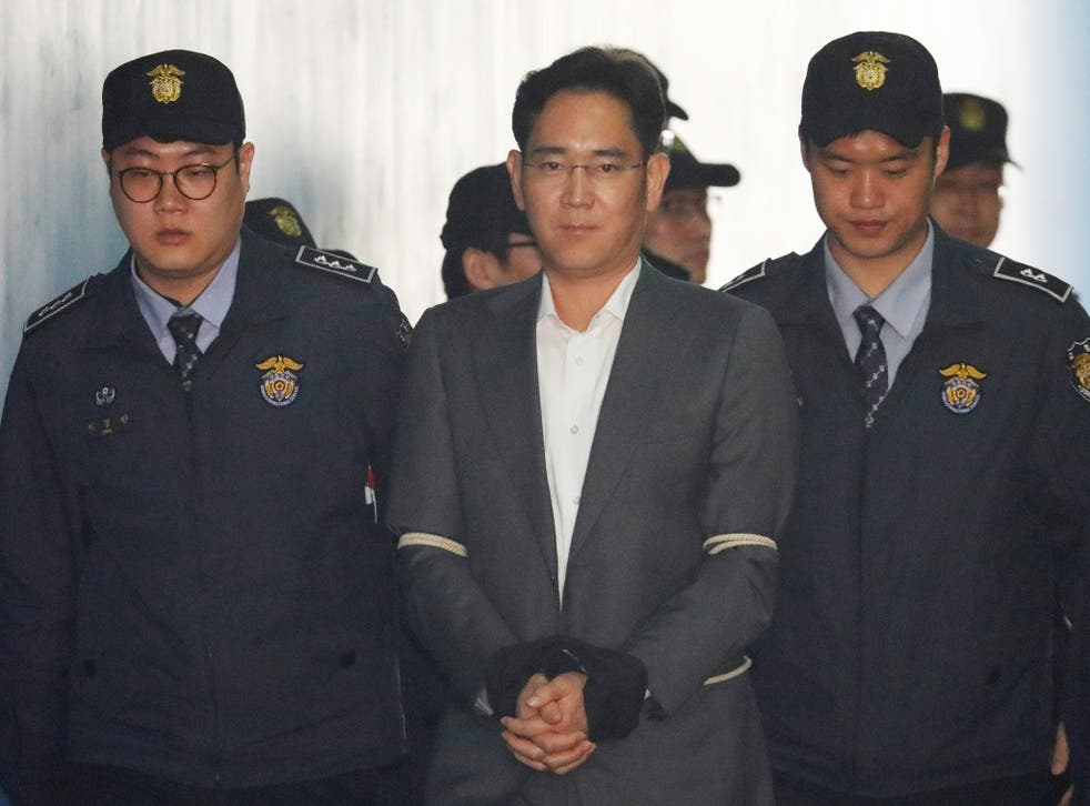 Since Mr Lee's arrest, Samsung has posted record net income and released the Galaxy S8 smartphone