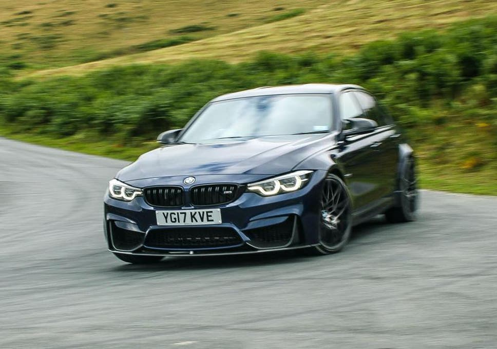 BMW M3: testing the 444bhp performance sports car | The Independent