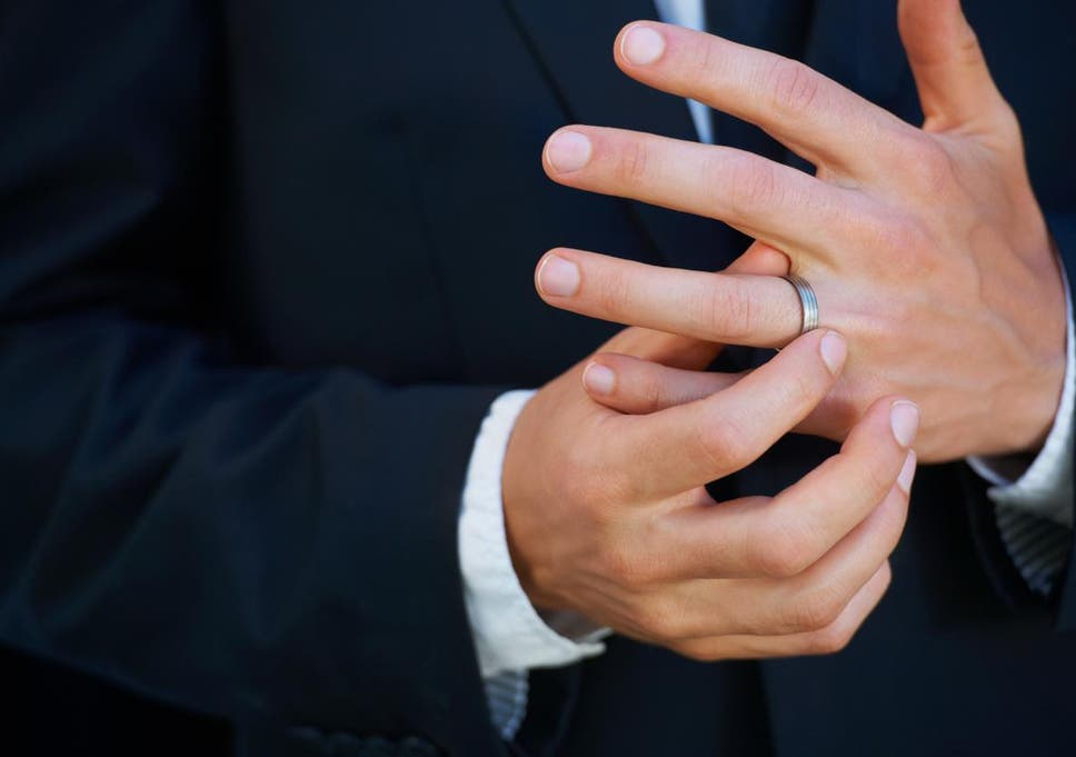73d44be44 Mangagement rings': the rise of engagement rings for men | The ...