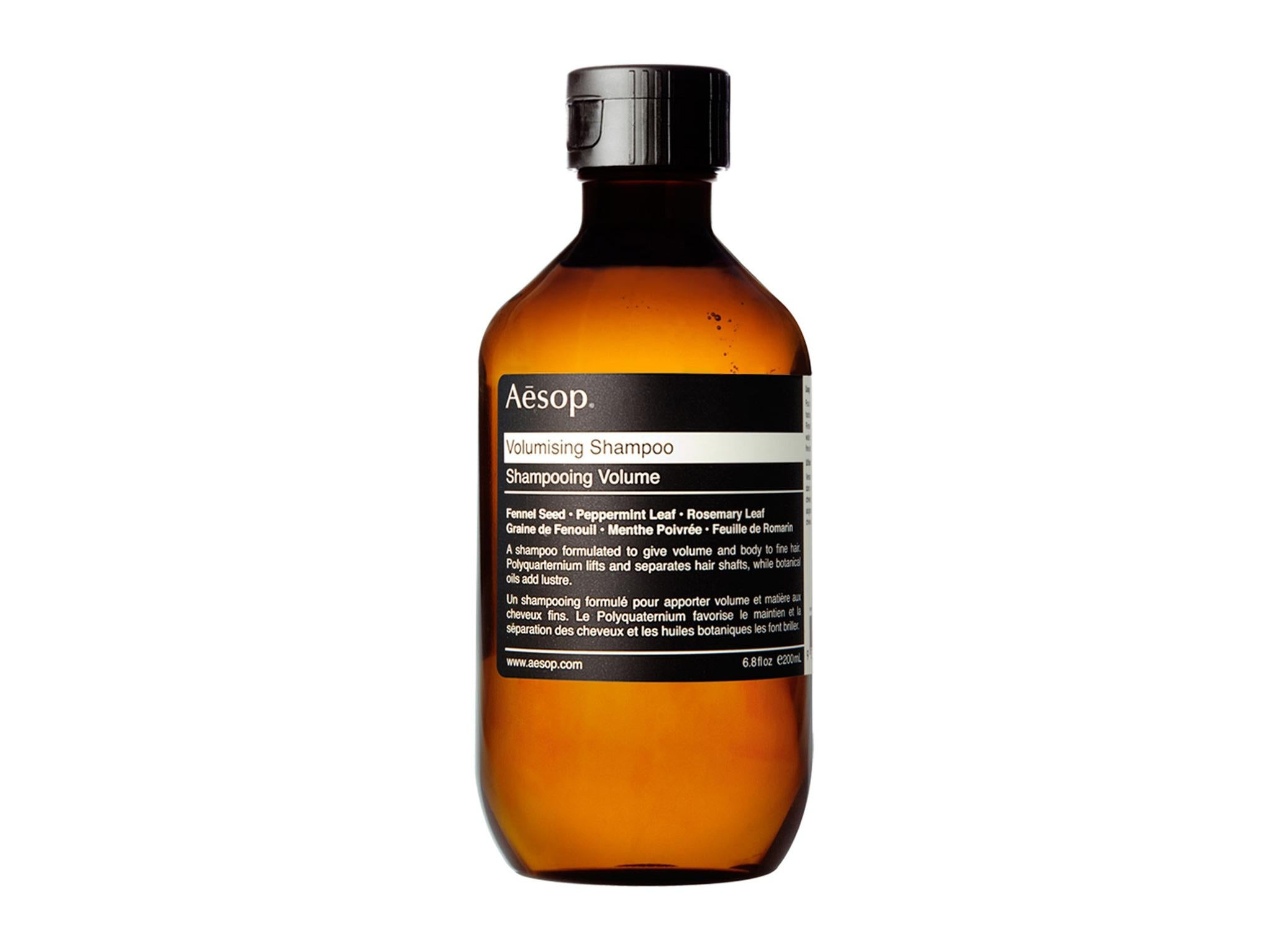 10 Best Hair Thickening Products The Independent Gieve Eucalyptus Conditioner Aesop Volumising Shampoo 17 For 200ml