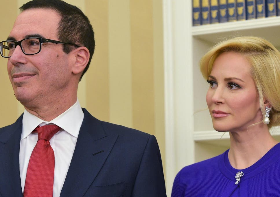 Treasury Secretary Steve Mnuchin And Wife Louise Linton May Have Used  Taxpayer Money For A Personal