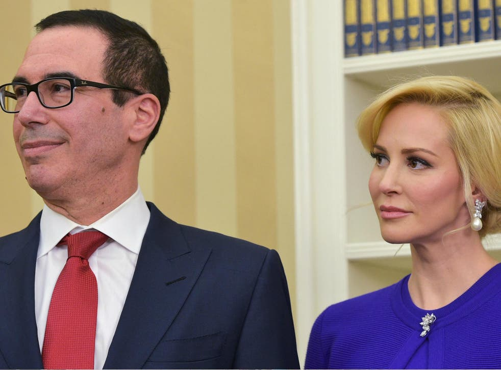 Treasury Secretary Steve Mnuchin and wife Louise Linton may have used taxpayer money for a personal trip to view the solar eclipse.