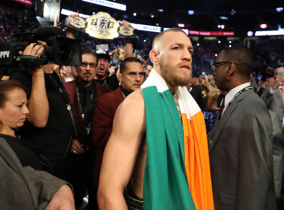 McGregor lost to Mayweather on Saturday night