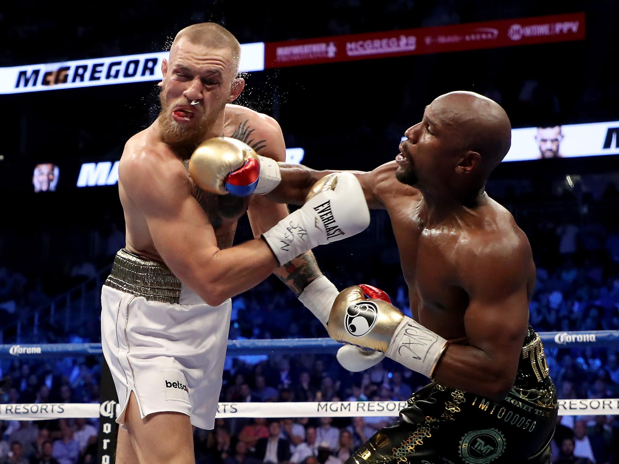 Floyd Mayweather beats Conor McGregor after delivering ... - photo#19