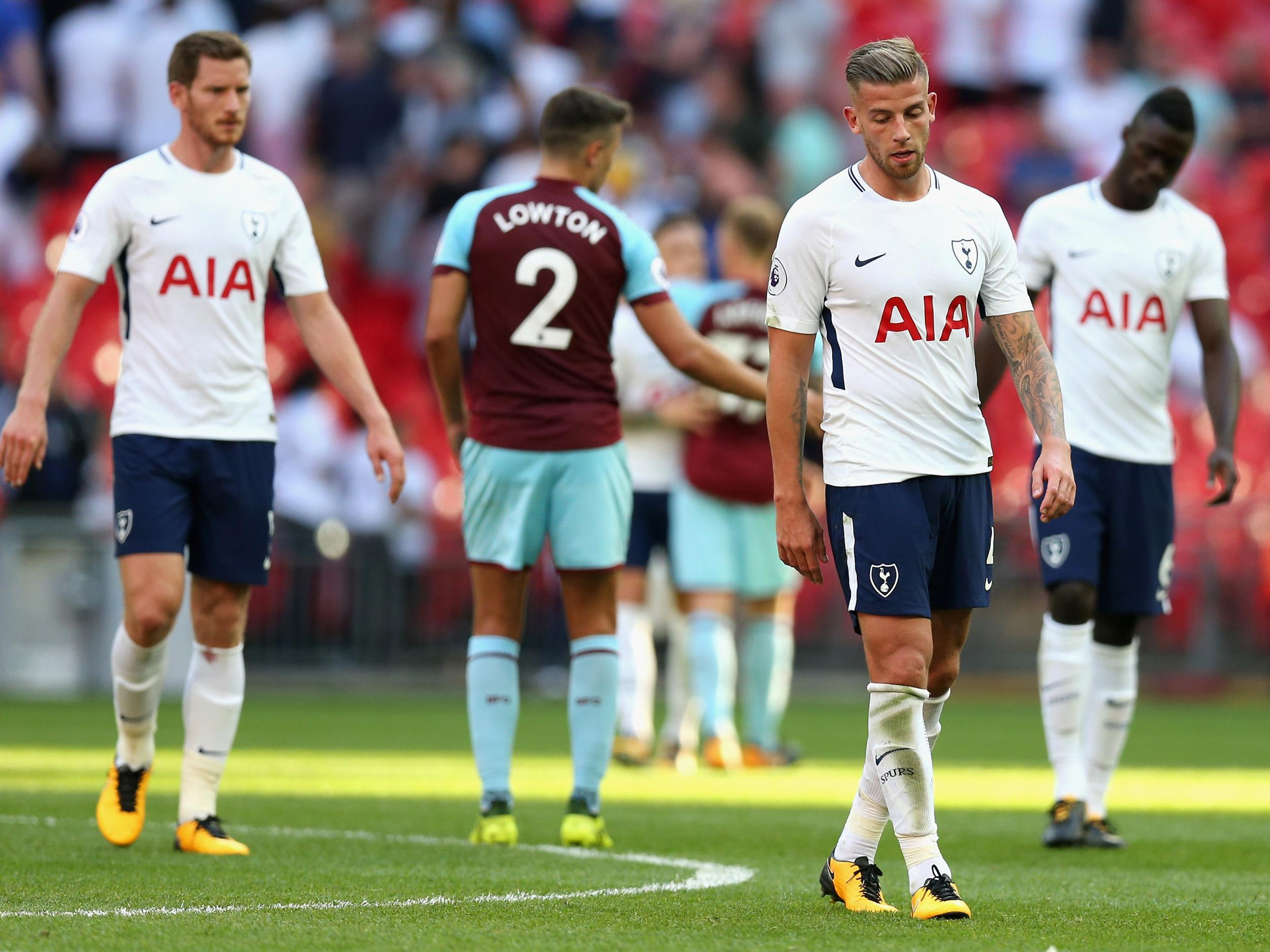 Tottenham Falter At Wembley Once Again As Burnley Snatch Late Draw The Independent