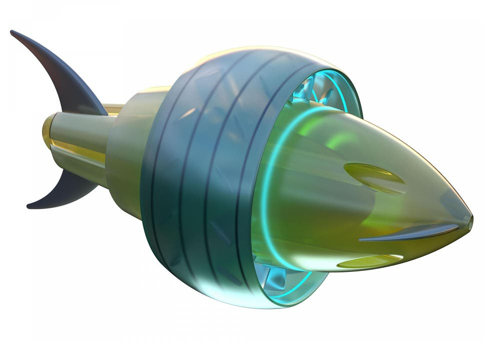 Self-driving eel submarines and fish torpedoes among