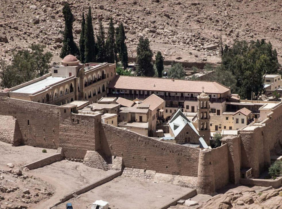 Parchments found at Saint Catherine's monastery on the Sinai peninsula included the first-known copy of the gospels in Arabic