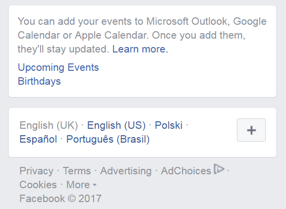How to add Facebook events and birthdays to your Google