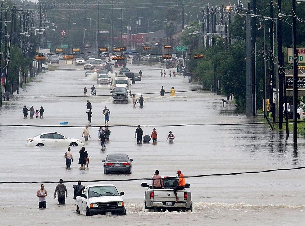 Houston received 30 inches of rain in just two days