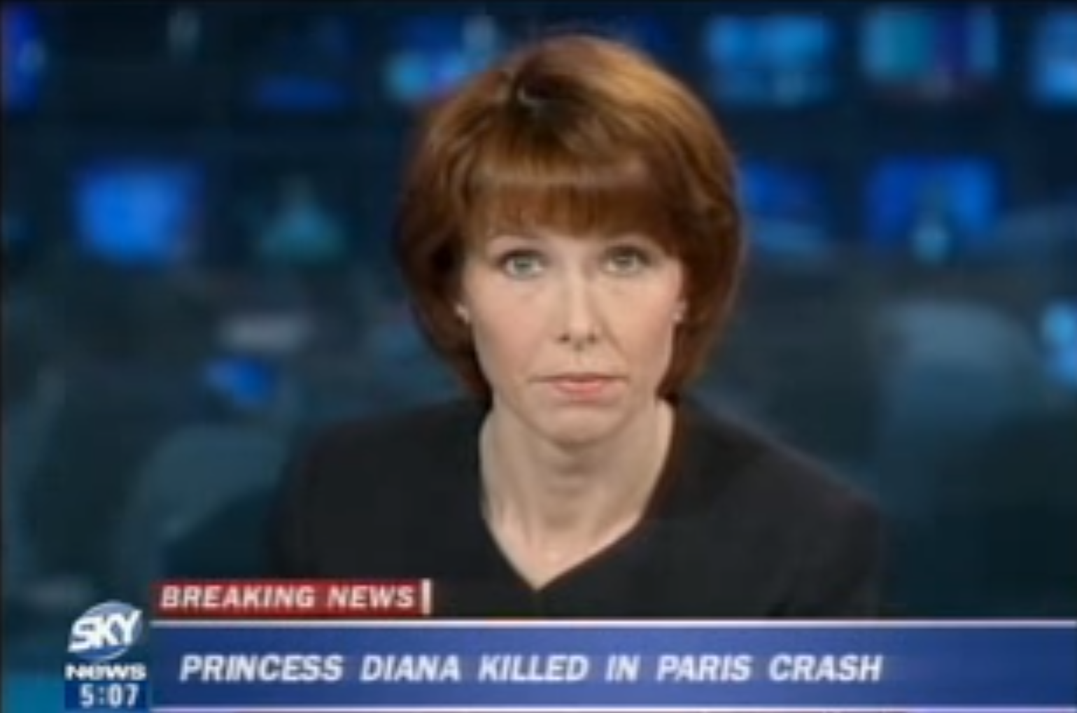 How Princess Diana's death was reported in the pre-social media