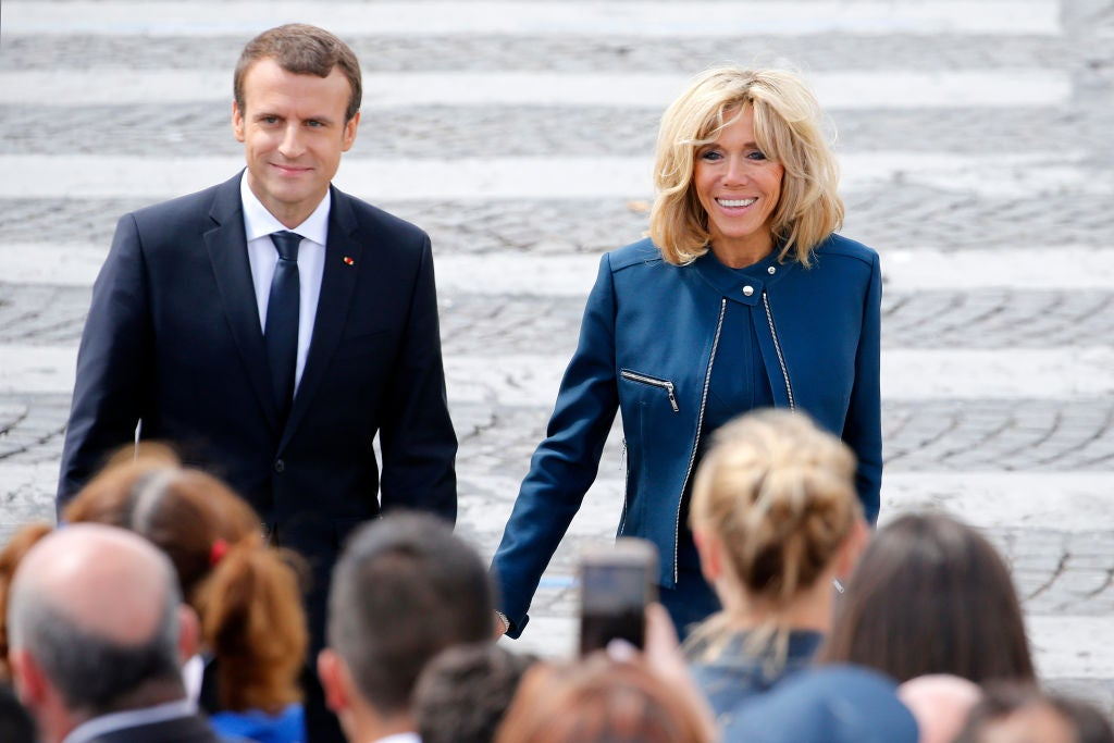 French President Emmanuel Macron wrote a steamy book about romance with his wife Brigitte, new biography claims