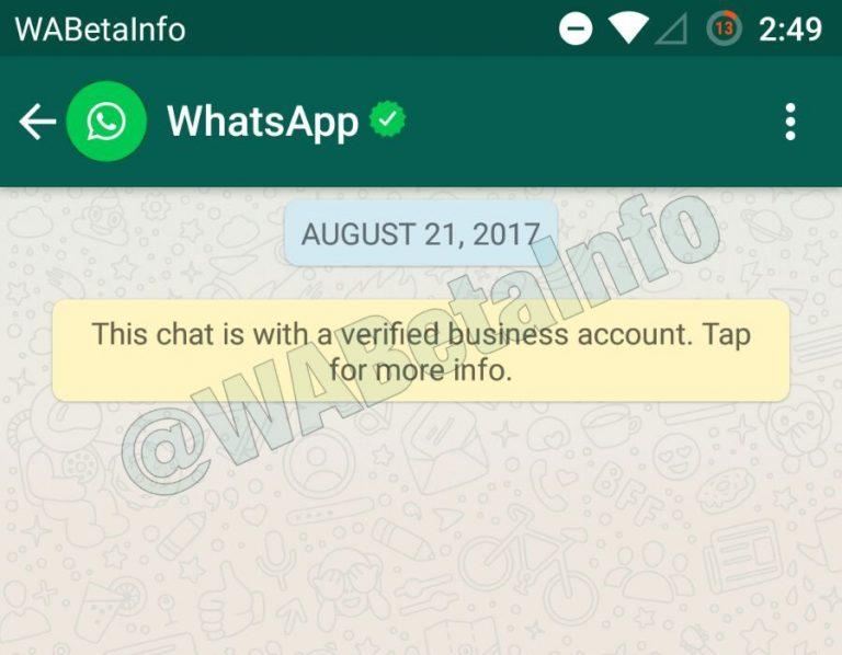Whatsapp Verified Accounts Makes It Easy For Companies To Message
