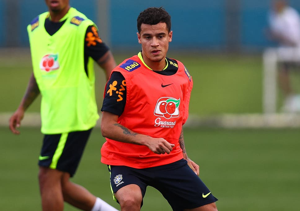 33ddb7e54 Liverpool playmaker Philippe Coutinho  in perfect condition to play  for  Brazil amid Barcelona transfer saga