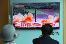 What would happen if a missile from North Korea actually hit Japan?