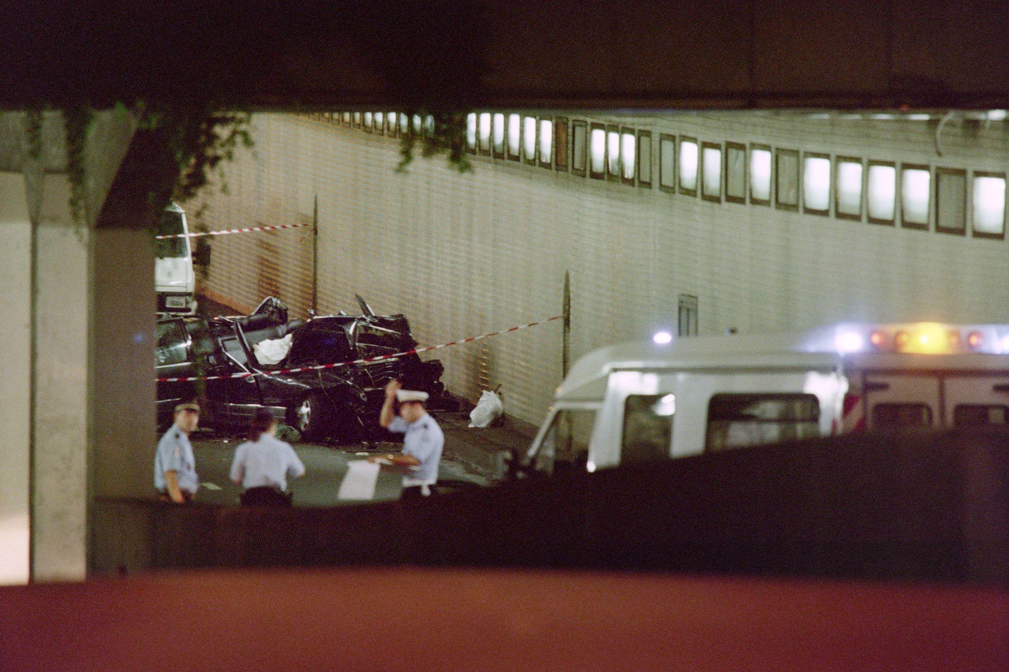 Music Video Tunnel Car Crash
