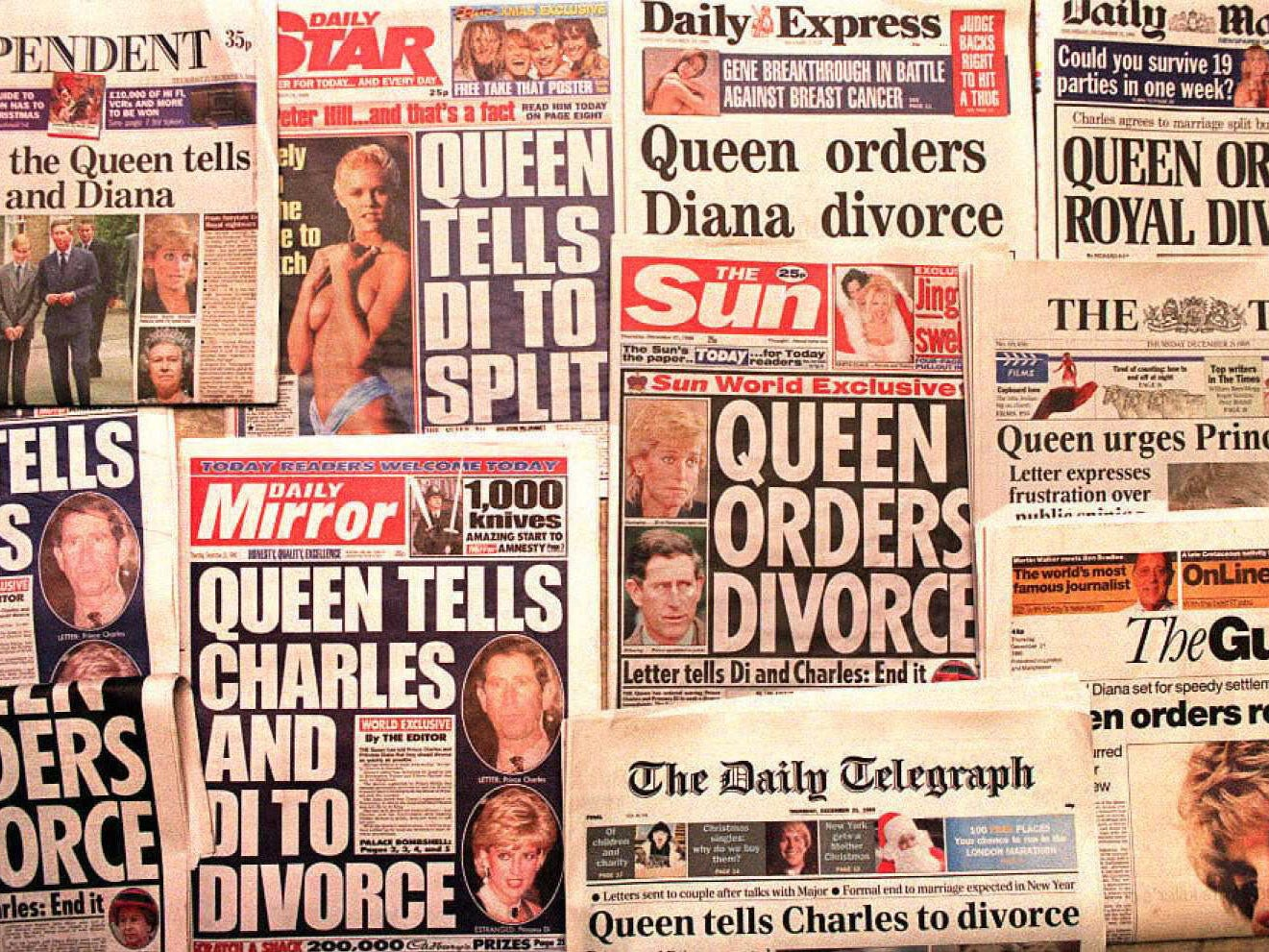 Princess Diana How The Tabloid Press Treated Her In The Run Up To